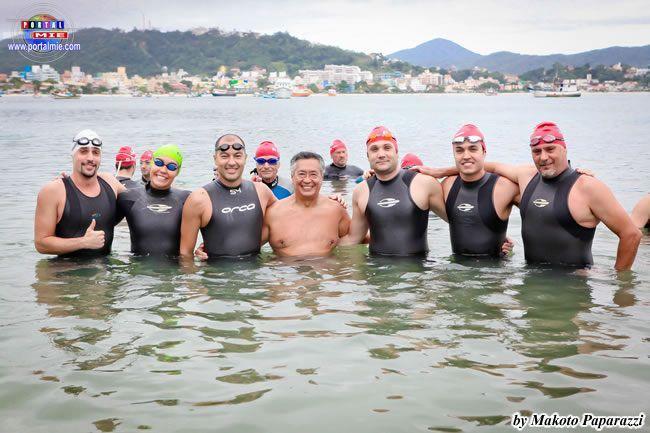 Sr. Hélio Ideriha e os amigos