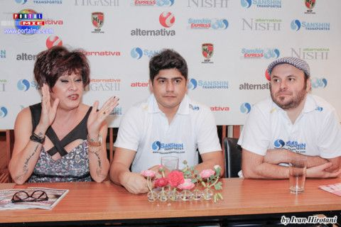 Nani, Luiz e Paulinho