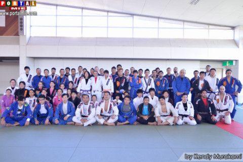 Participantes do kangeiko