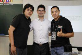 Diego, Cassius e Junior Oliveira