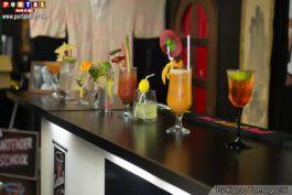 Drinque preparados pelos alunos El Mago