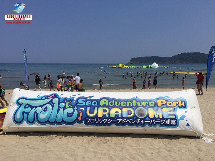 Conheça o Parque Aquático Frolic Sea Adventure Park