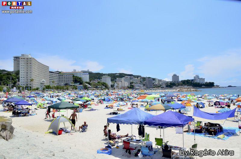 &nbspConhecendo a praia de Shirarahama em Wakayama