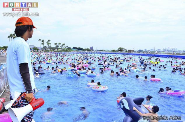 &nbspConheça as piscinas e praia do Sun Beach em Aichi