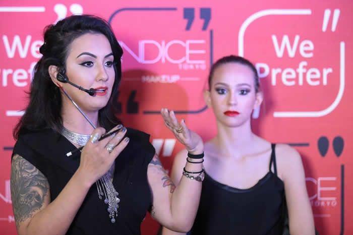 &nbspA maquiadora profissional Grisiela Ribeiro