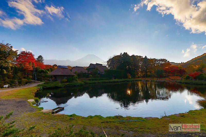 &nbspArakurayama Sengen Park em Yamanashi: uma linda visão do Monte Fuji