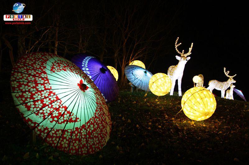 &nbspA bela iluminação de inverno do Kyoto Illumiere