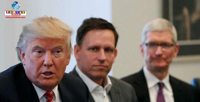 &nbspGrandes empresas de tecnologia dicen estar contra política de Trump