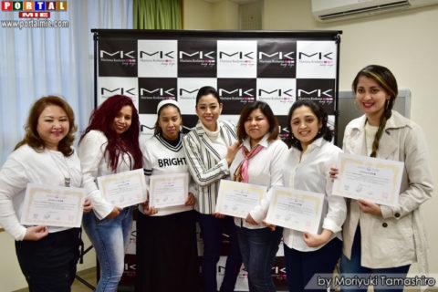 curso sobrancelha 2017-01-22 Participantes do curso