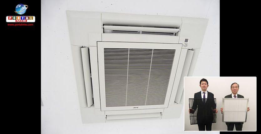 &nbspEmpresa no Japão desenvolve filtro de ar-condicionado para combater o kafunsho