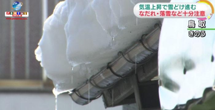 &nbspTemperaturas altas por todo o país! Perigo de derretimento de neve e avalanches!