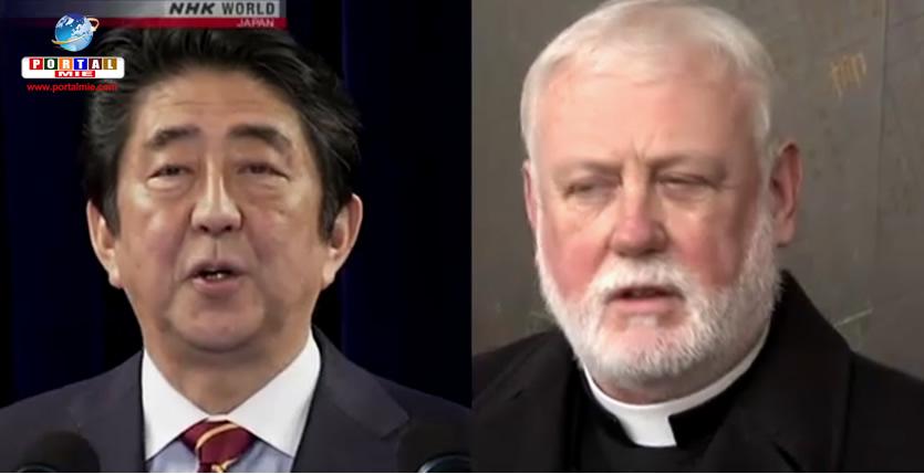&nbspShinzo Abe convida Papa Francisco para visitar o Japão