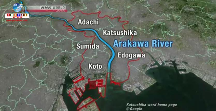 &nbspInundações na capital do Japão podem afetar 1,5 milhão de pessoas