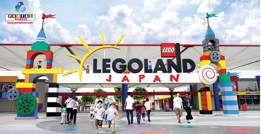 &nbspAutenticidade é o foco principal do primeiro parque da Lego ao ar livre do Japão