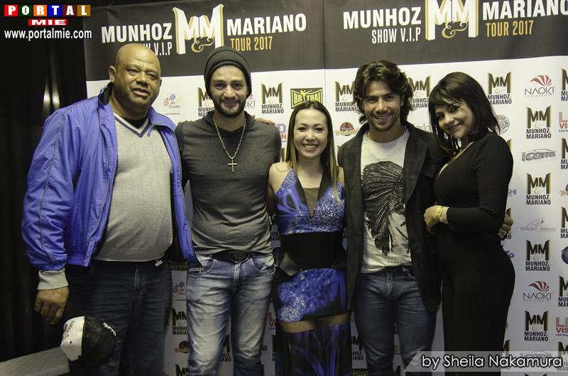 Show VIP com Munhoz e Mariano no Night Café
