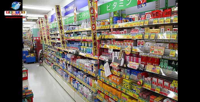 &nbspFarmácias no Japão a caminho de ultrapassar as lojas de departamento em vendas