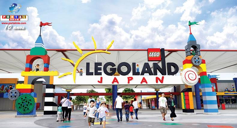&nbspParque da Lego em Nagoia é benefício para o turismo local