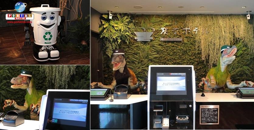 &nbspMais um hotel operado por robôs é inaugurado no Japão; outros 100 serão lançados