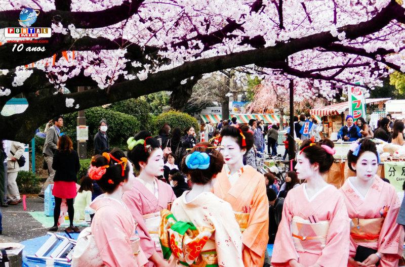 &nbspPrograme seu hanami com a previsão da floração da esperada sakura
