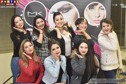 shiga auto maquiagem 18-3-2017 Participantes do curso