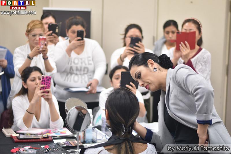 Evento de maquiagem profissional em Tochigi
