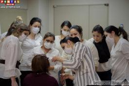Mariana detalhando a técnica sobrancelha minokamo 2017-04-15