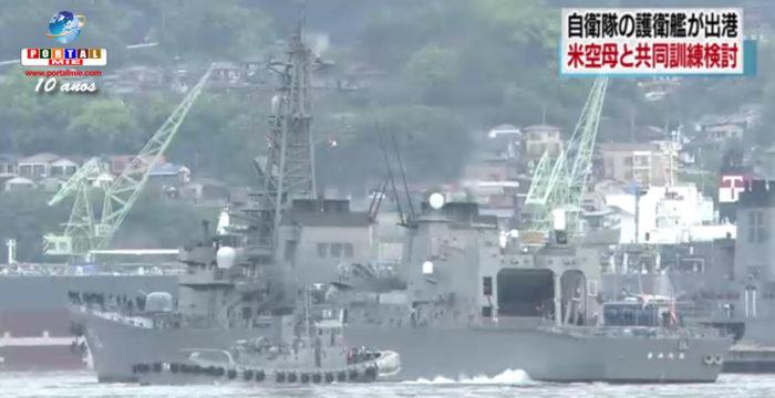 &nbspMinistério da Defesa pretende realizar treinamentos junto ao porta-aviões americano