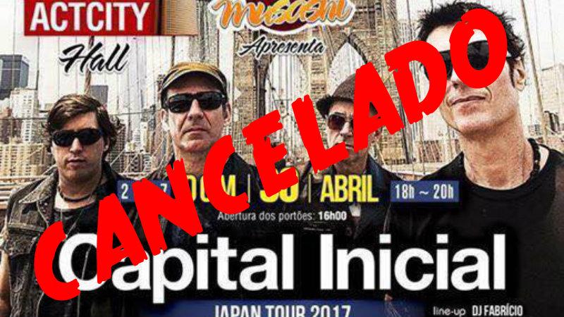 &nbspCapital Inicial: shows cancelados e promessa de devolução de dinheiro