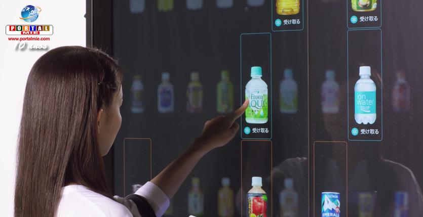 &nbspNova máquina de venda automática de bebidas elimina o uso de moedas e notas