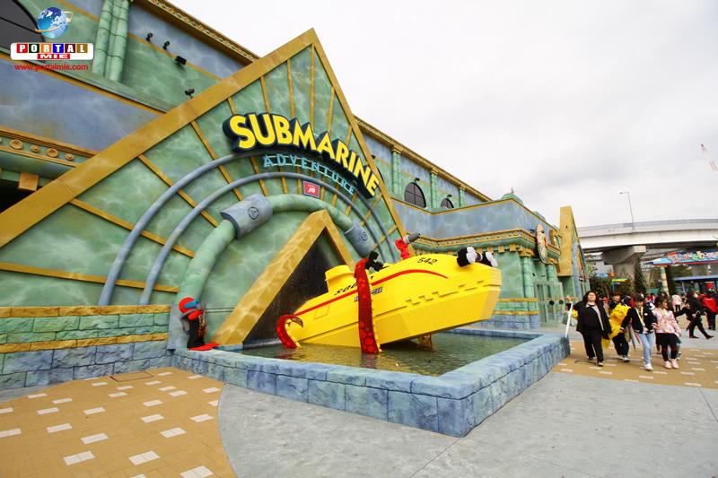 &nbspConfira a inauguração do Parque da Lego em Nagoia