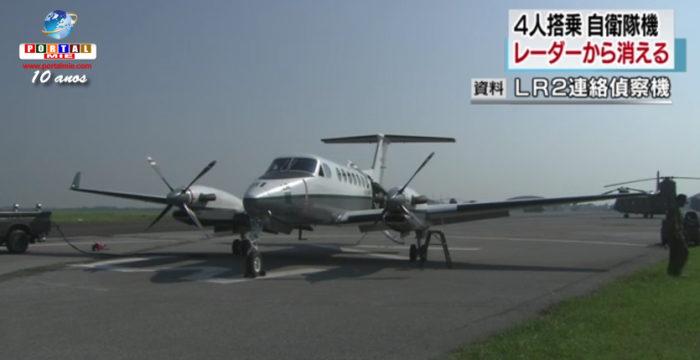 &nbspAvião das Forças Armadas do Japão some do radar em Hokkaido