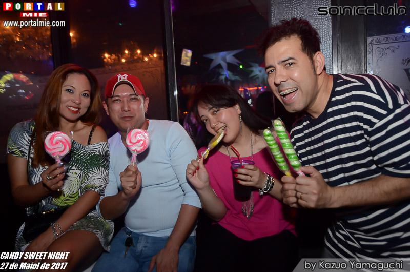 Catia, Adilson, Erika e Moa sonic club