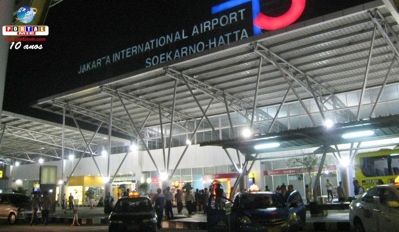 &nbspJaponês é detido por suspeita de contrabando no aeroporto da Indonésia