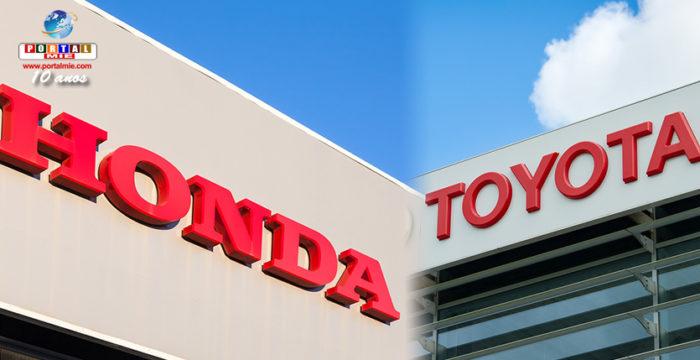 &nbspToyota e Honda são investigadas por violação de patente nos EUA