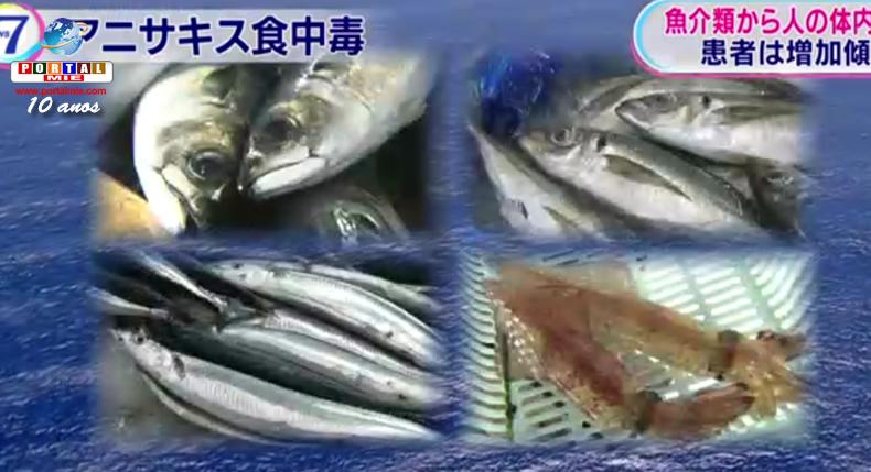 &nbspAumentam os casos de infecção por Anisakis associadas ao consumo de peixe cru