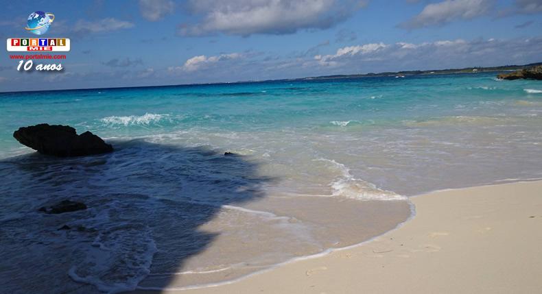 &nbspConheça a belíssima praia de Sunayama