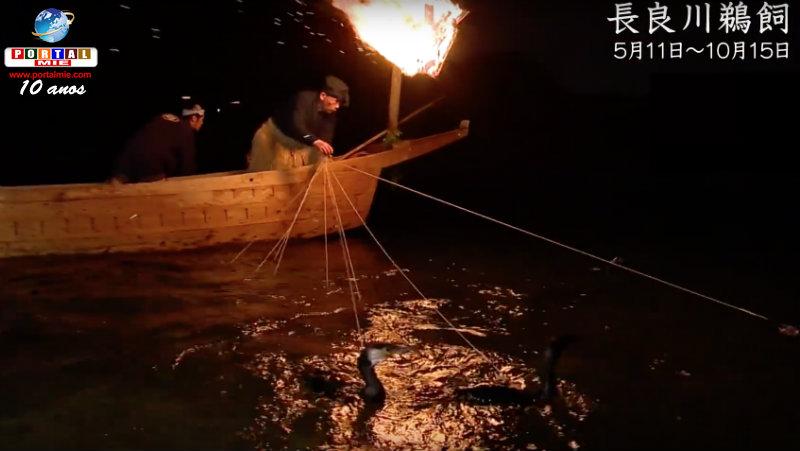 &nbspConheça a espetacular pesca milenar: Nagaragawa Ukai (vídeo)