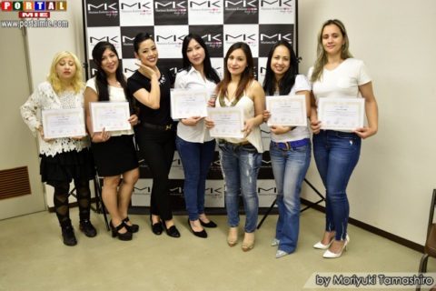 Participantes do cruso design sobrancelha 2017-06-11