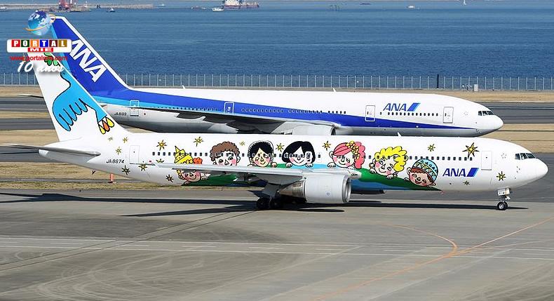 &nbspEmpresa aérea do Japão é reconhecida como a líder do mundo em 2 categorias