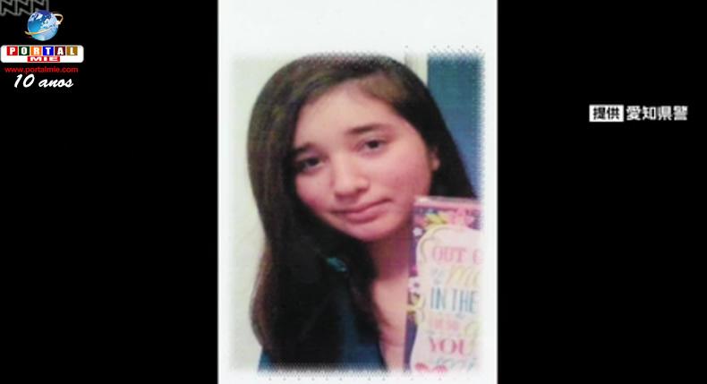 &nbspToyohashi: jovem de 16 anos está desaparecida
