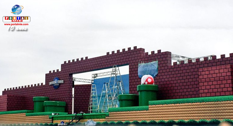 &nbspUniversal Studios Japan ganha palco do Super Mario