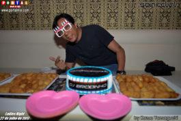 DJ Brodinho aniversariante Sonic Club