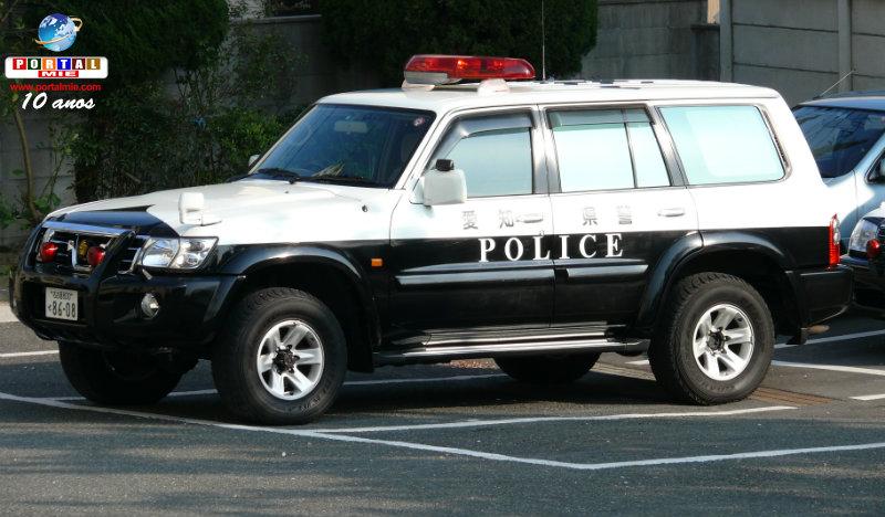 &nbspBatida policial em Nagoia rende 3 prisões