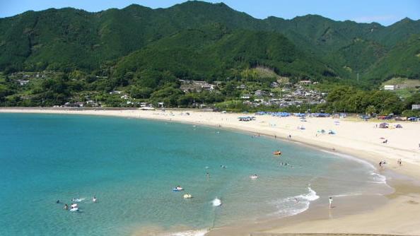 &nbspPraia de Atashika em Mie é mais uma opção para o seu verão