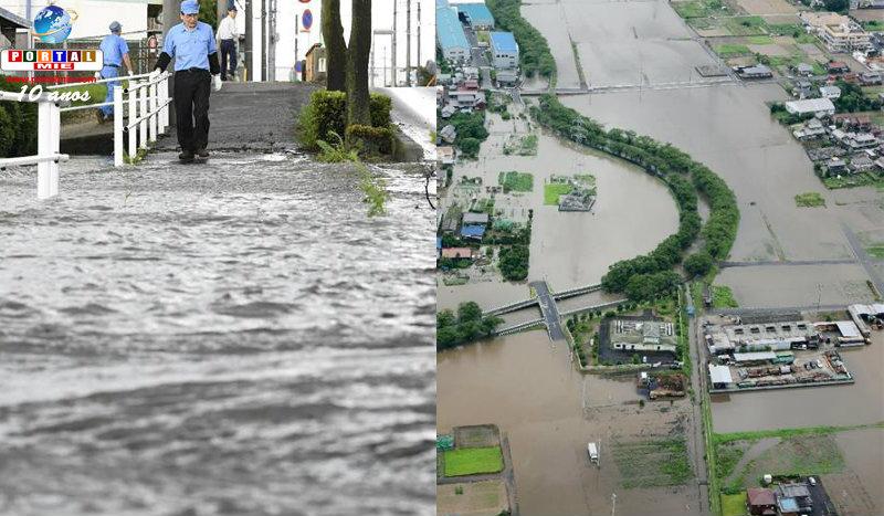 &nbspChuva histórica causa danos em Aichi e Gifu