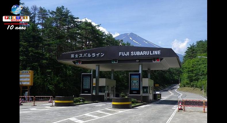 &nbspRestrição de verão no tráfego de veículos no Monte Fuji
