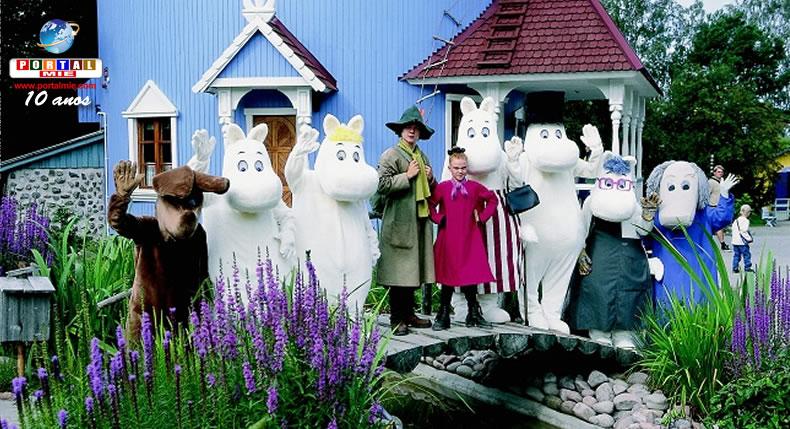 &nbspCerimônia marca início da construção de parque temático Moomin em Saitama