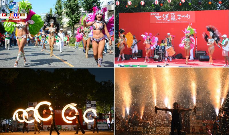 &nbspOsu Festival com desfile de escola de samba