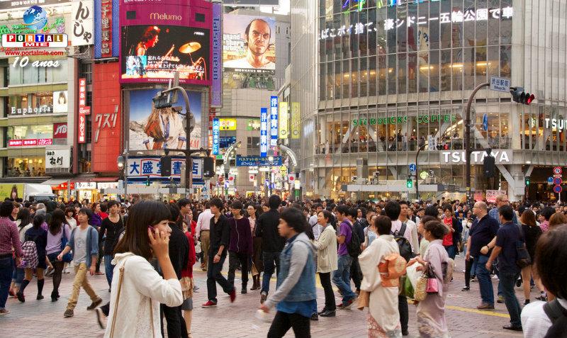 &nbspPopulação do Japão em queda pelo 8º ano consecutivo