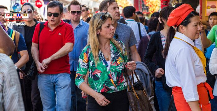 &nbspJapão registra novo recorde de turistas estrangeiros no país
